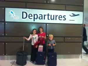 Sydney departures