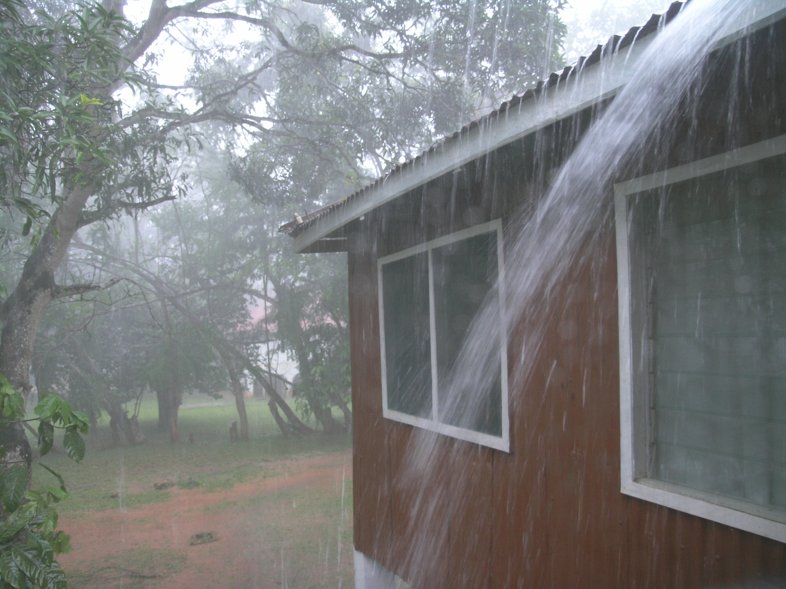 And the rains will come six degrees north - Rain gutter downspout diffuser ...