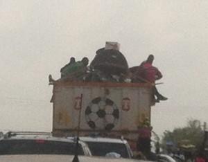 Burkina cattle truck