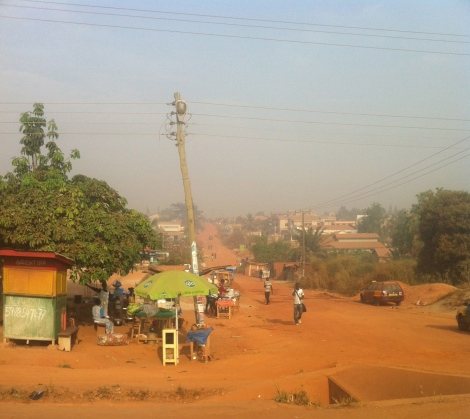 Harmattan - Obuasi Road