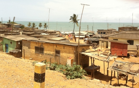 Towns along the Cape Coast