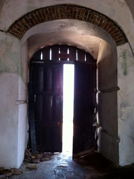 The infamous Door of No Return.