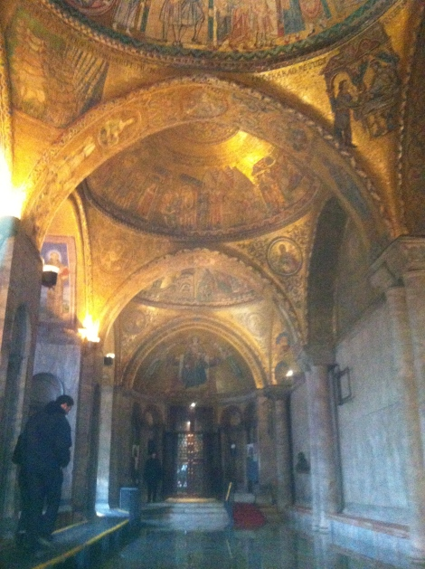 Putting my rising damp issues to rest, San Marco's Basilica.