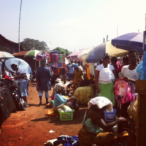 Ghanaian market
