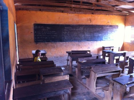 A typical government school; which puts our issues in perspective.