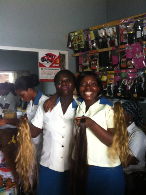 Hairdressers and Weave-ins