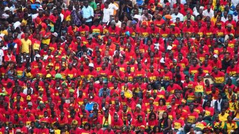 African football match