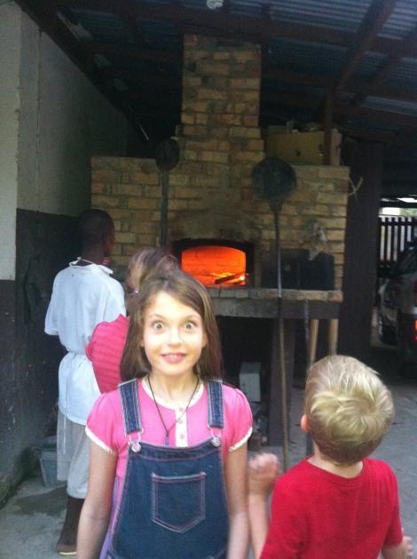 A secret gem: a wood fired pizza oven in a backyard!