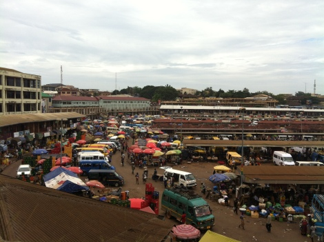Kumasi Lorry station
