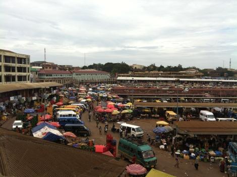 Kumasi Lorry station