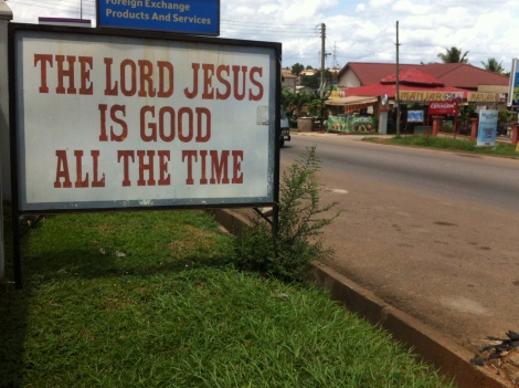 Jesus is good…all the time