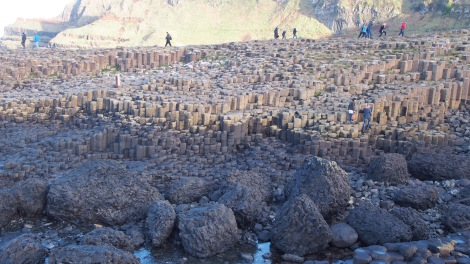 What more could a girl want for her birthday than some geo-tourism at the UNESCO Giant's Causeway?