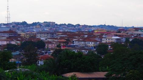 Kumasi skyline