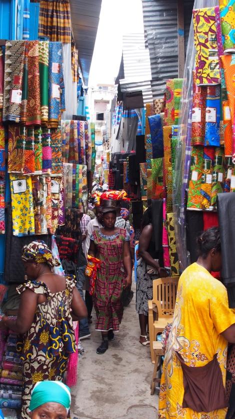 Kejetia Markets, Fabric