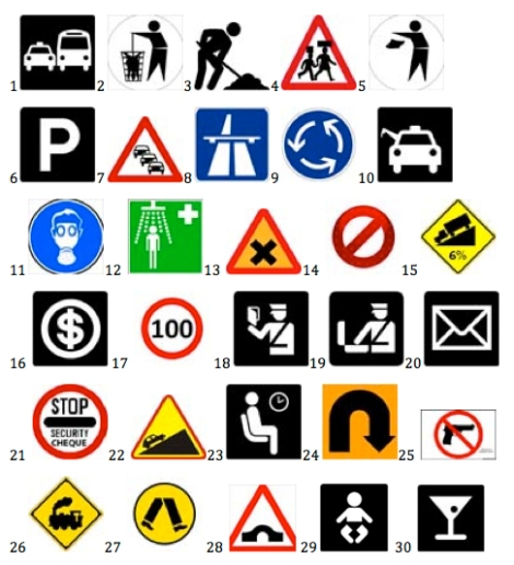 important street signs to know in Ghana