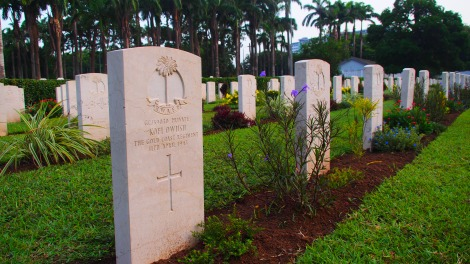 Ghanaian soldier grave
